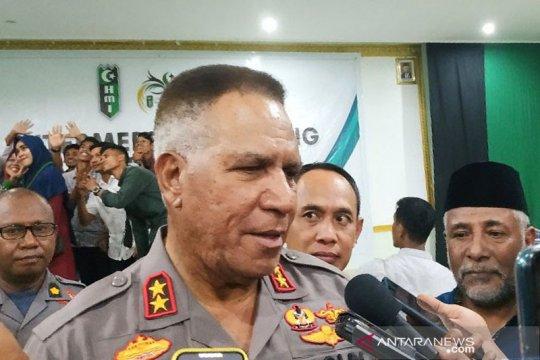 Kontak tembak di Arwanop, Kapolda: Anggota Brimob gugur