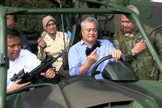 Delegasi Kementerian Pertahanan Filipina kunjungi PT Pindad