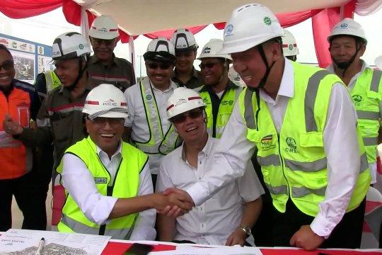 Menhub tinjau proyek kereta cepat Bandung-Jakarta