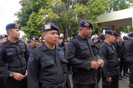 117 aparat Brimob Polda Kepri jaga kamtibmas di Natuna
