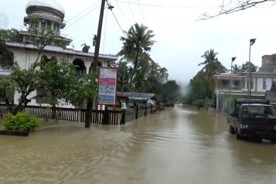 BNPB, Banjir Aceh disebabkan timbulnya sedimentasi kerusakan lingkungan