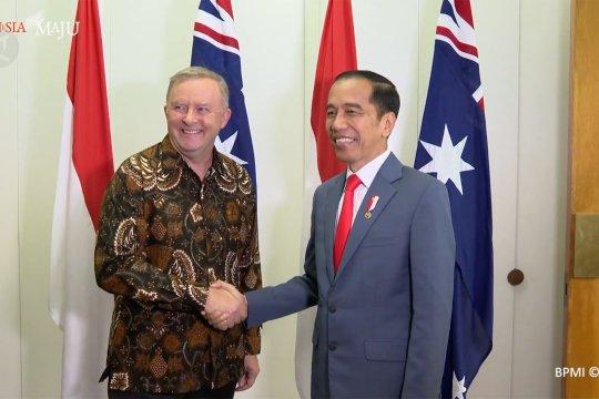 Jokowi apresiasi dukungan partai oposisi Australia dalam peningkatan hubungan bilateral