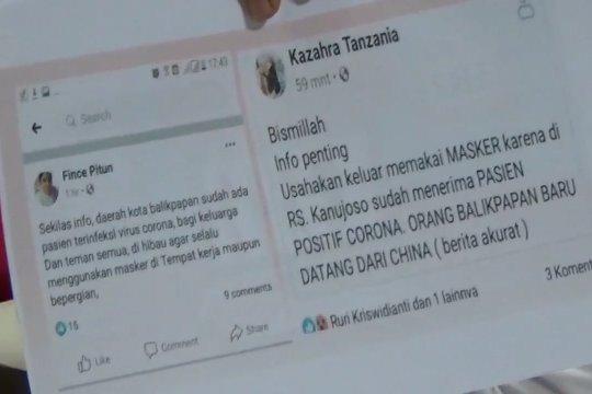 Polda Kaltim tetapkan 2 orang tersangka penyebar hoaks  Corona