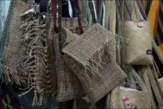 Tenun serat alami Sleman tembus Eropa & Timur Tengah