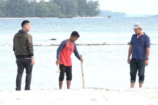 Landasan helikopter mulai dibangun di Pulau Sebaru Kecil