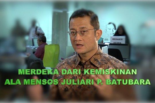 Merdeka dari kemiskinan ala Mensos Juliari P. Batubara