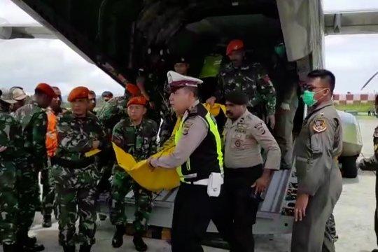 Panglima TNI Senin besok akan melepas 12 jenazah penumpang heli Mi-17