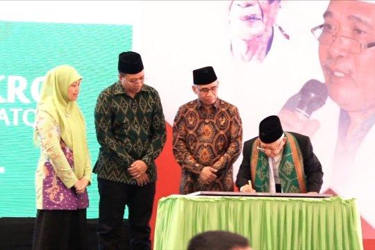 Wapres Ma'ruf Amin resmikan Bank Wakaf Mikro Ponpes Al-Manshuriah Lombok