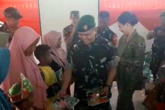 Bakti sosial Kodim 1308 Luwuk Banggai pasca banjir rob