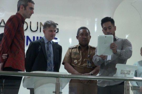 Inggris pilih Bandung kembangkan sistem transportasi massal terintegrasi