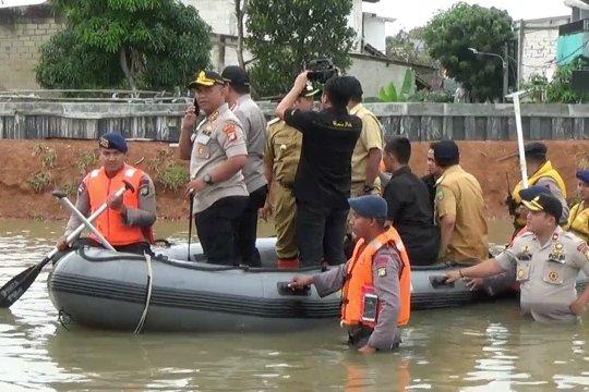 Kapolda Metro Jaya jamin beri rasa aman ke warga terdampak banjir