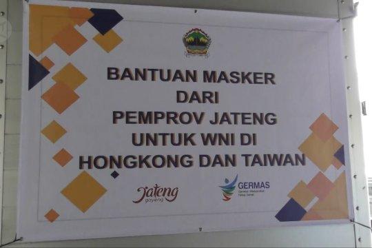 Pemprov Jateng kirim 41.250 masker untuk WNI di Hongkong, Taiwan dan Singapura