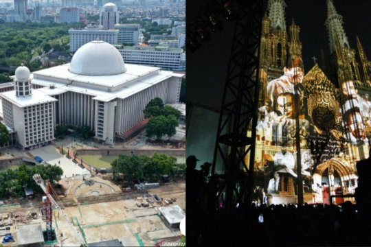 Akan ada terowongan silaturahmi bawah tanah antara Istiqlal-Katedral