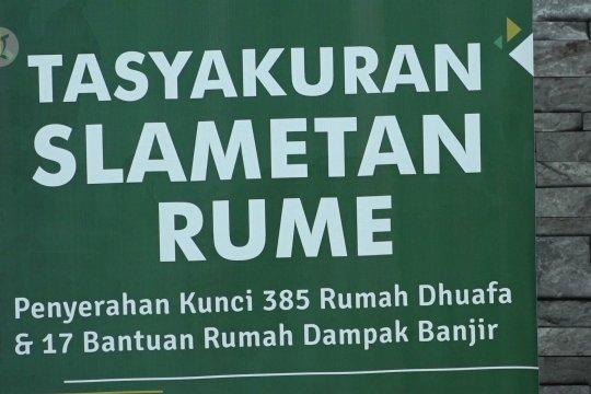 402 rumah bantuan untuk dhu