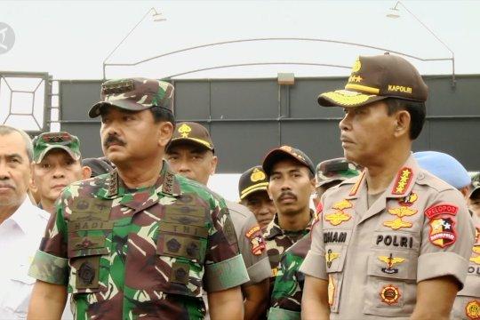 Panglima TNI dan Kapolri apresiasi kesiapan penanganan karhutla Riau