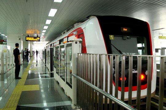 Pembangunan LRT fase 2A tetap berjalan normal