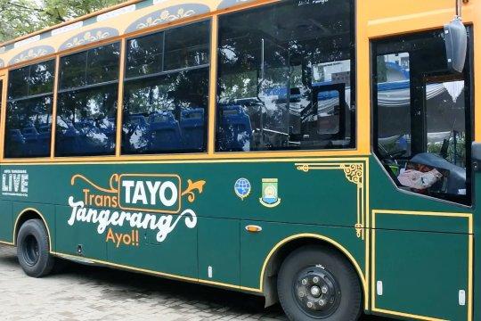 Pemkot Tangerang luncurkan layanan  nontunai untuk  BRT dan KIR