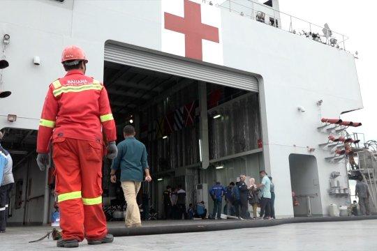 Ini kapal rumah sakit yang jadi opsi penjemput WNI di Jepang
