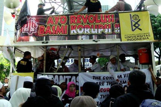 Reuni peserta aksi 212 soroti persoalan korupsi