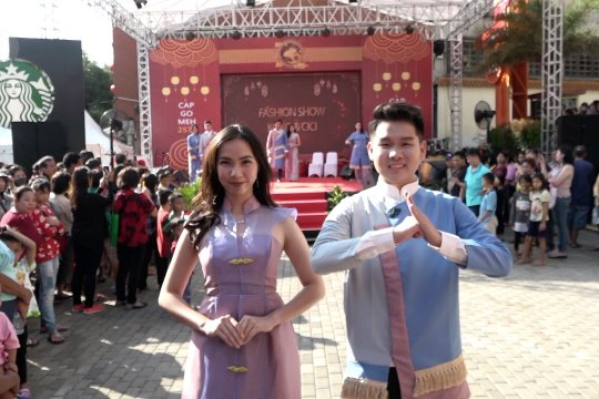 Kemeriahan Festival Cap Go Meh di Glodok Jakarta