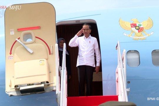 Kunjungan kenegaraan, Presiden Jokowi bertolak ke Australia