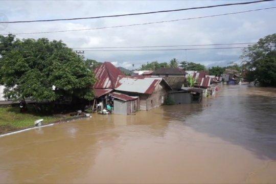 3 hari diguyur hujan, Kabupaten Tapin, Kalsel, banjir