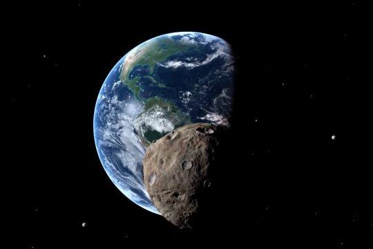 Asteroid raksasa lintasi bumi, masyarakat tidak perlu khawatir