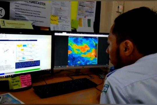 Empat wilayah di Sulawesi Tengah akan alami hujan intensitas tinggi