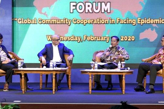 Indonesia dan Singapura, saling terbuka dalam menghadapi corona