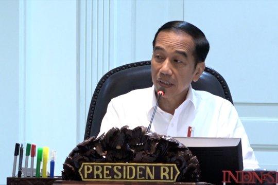Jokowi : impor baja sumber utama defisit neraca perdagangan