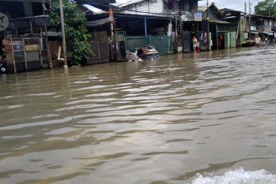 Kawasan Pulo Gadung Jakarta Timur terendam banjir