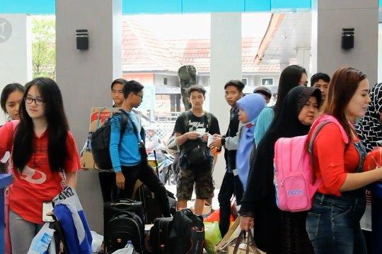 Lebih dari 63 ribu tiket kereta api untuk pemudik Lebaran di Palembang