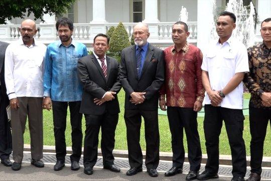 Mantan petinggi GAM tagih janji pada Presiden Jokowi