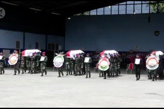 Panglima TNI & Kapolri lepas 4 jenazah korban kecelakan Heli Mi-17