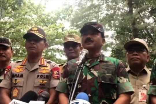 Panglima TNI tinjau Pulau Sebaru Kecil lokasi observasi ABK World Dream