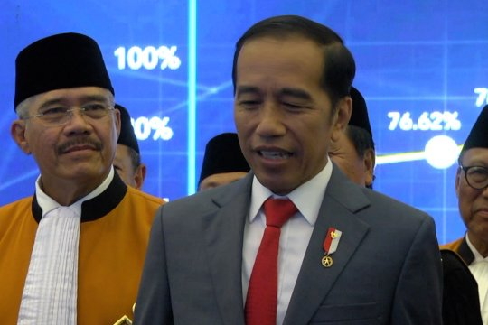 Soal Reshuffle, Presiden Jokowi : Saya belum berfikir kesana