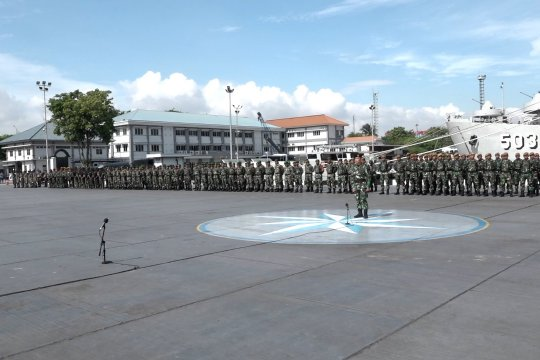 762 personel Kogasgapad diberangkatkan ke Pulau Sebaru