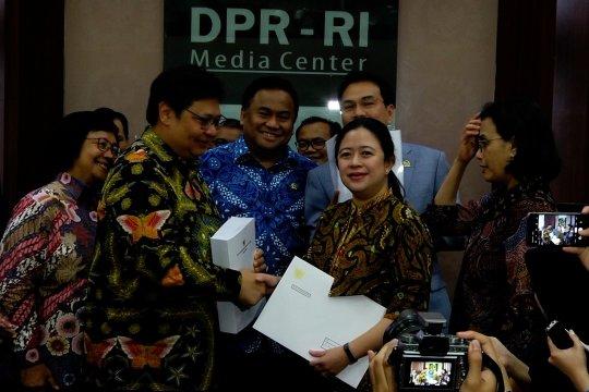 DPR terima draf RUU Omnibus Law Cipta Lapangan Kerja