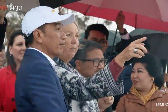 Jokowi pelajari pembangunan ibu kota dari Australia