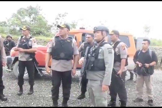 Kontak senjata di Mimika tewaskan seorang anggota Brimob