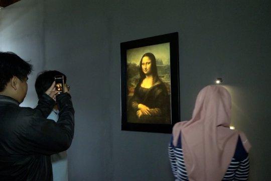 Lukisan Mona Lisa hadir di Kawasan Kota Tua Jakarta