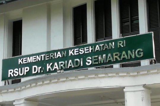 Pasien meninggal dunia di ruang isolasi di RSUP Kariadi Semarang negatif Covid-19