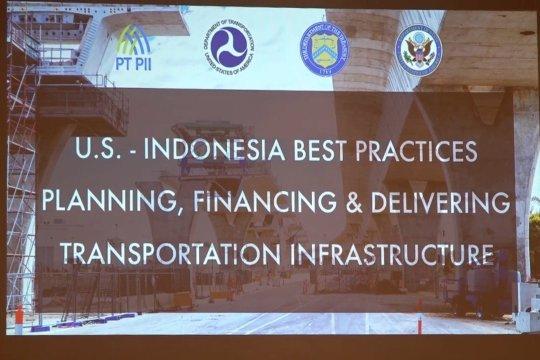Pemerintah AS akan fokus dukung pembangunan infrastruktur transportasi di Sumut