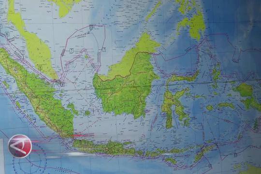 Peta laut yang sah hanya keluaran Pushidrosal TNI AL