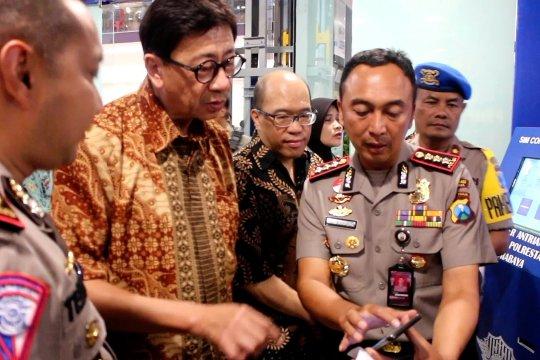 Polrestabes Surabaya buka SIM Corner di BG Junction
