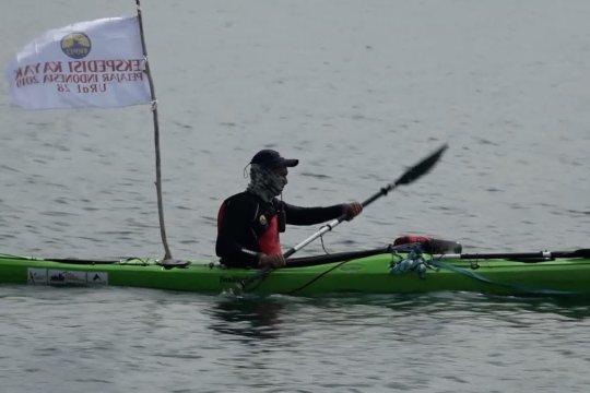 Festival olahraga air pertama di danau supervolcano