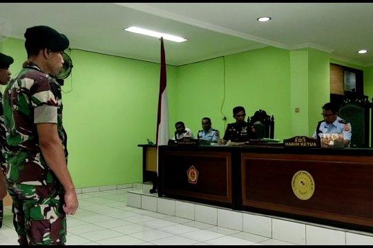 Tiga oknum TNI penjual amunisi ke KKB Papua dipecat dan dipenjara