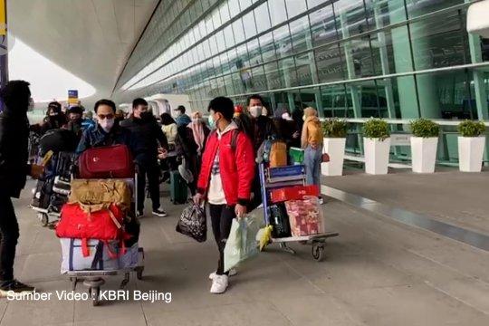 Situasi evakuasi WNI di Wuhan