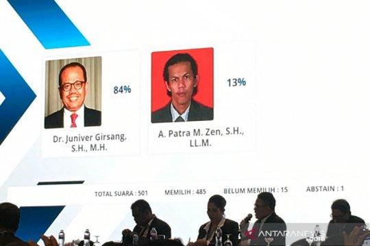 """Terapkan """"e-voting"""", Juniver terpilih Ketum Peradi 2020-2025"""