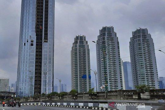 Pagi ini Jakarta berawan